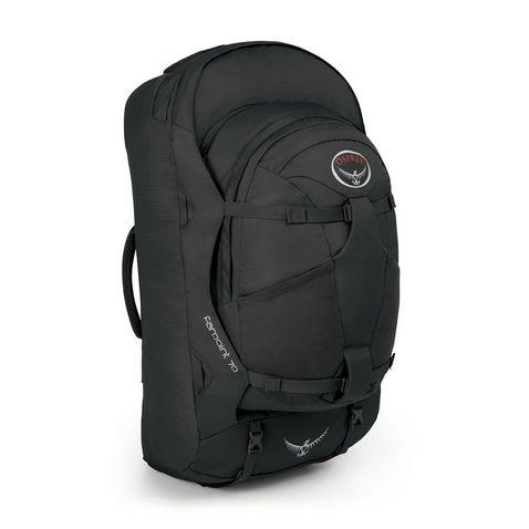 3bafe93691ce Black Osprey Farpoint 70 Travel Backpack ...