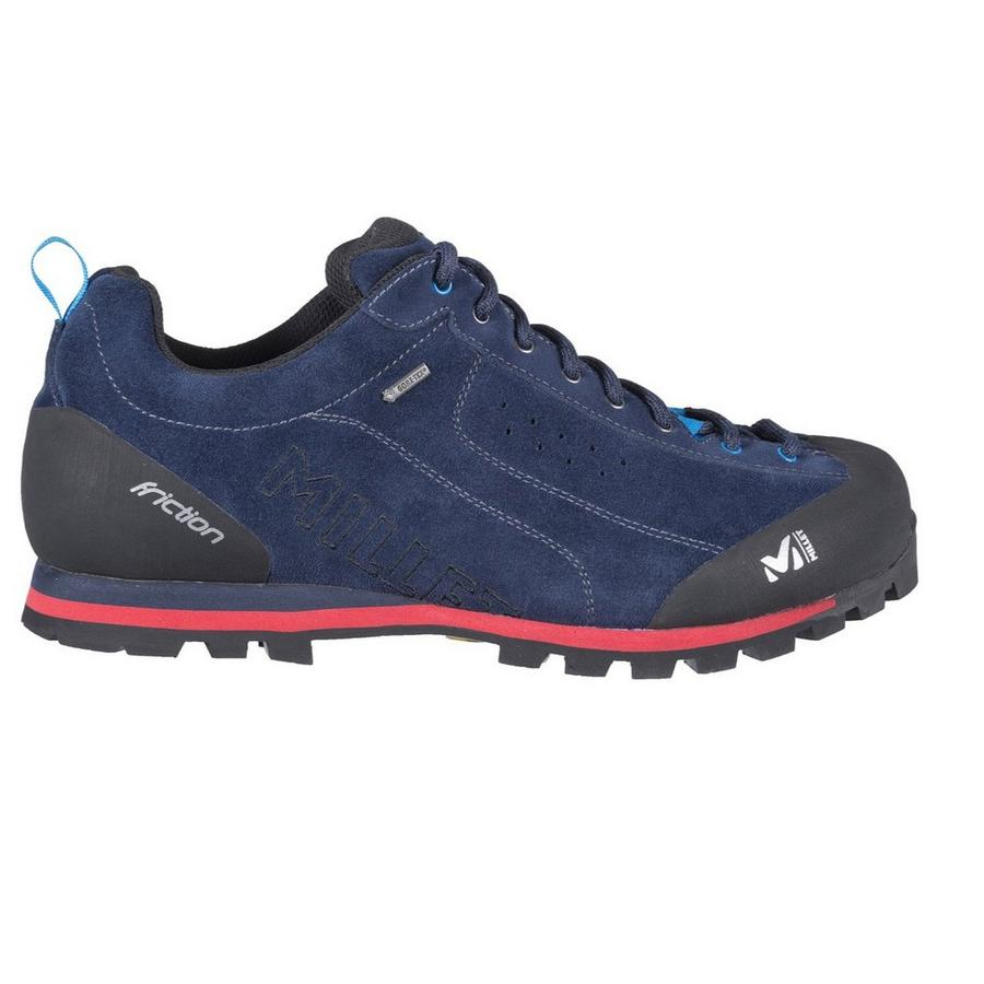 Millet FRICTION GTX - Walking shoes - saphir/rouge 5FNV1