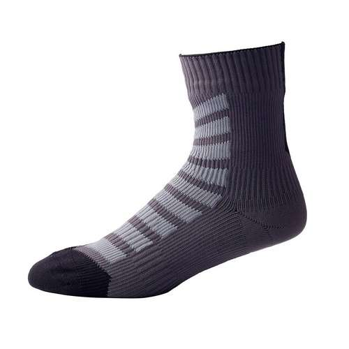 Mens MTB Ankle Sock With Hydrostop Green Black