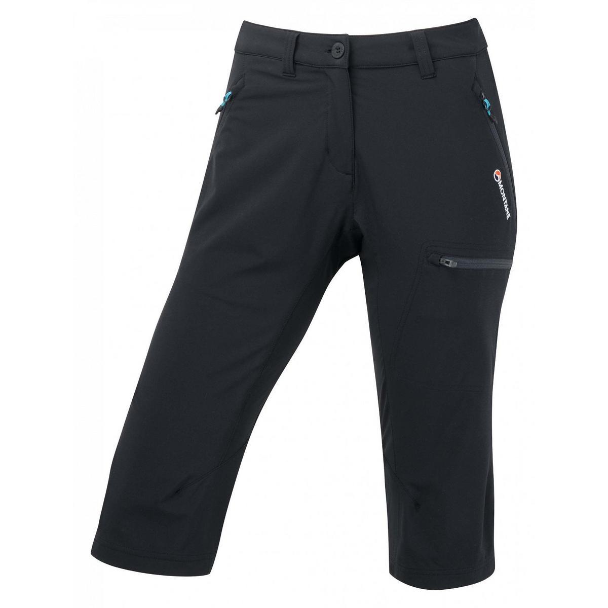 Montane Pant Women's Dyno Stretch Capri Black/Phantom