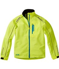 Protec Youth Waterproof Jacket hi vis yellow