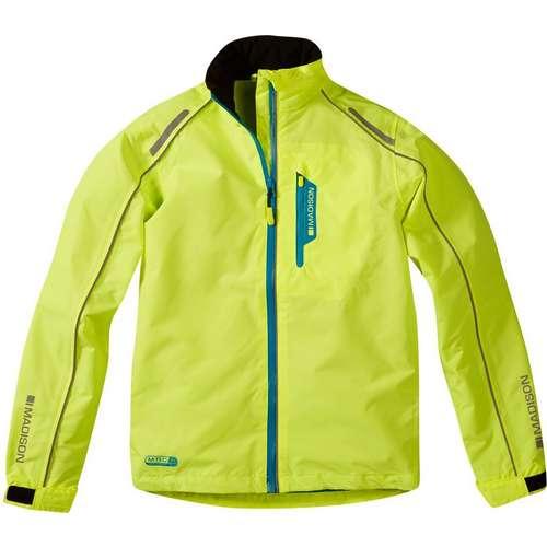 Protec Youth Waterproof Jacket hi vis yellow
