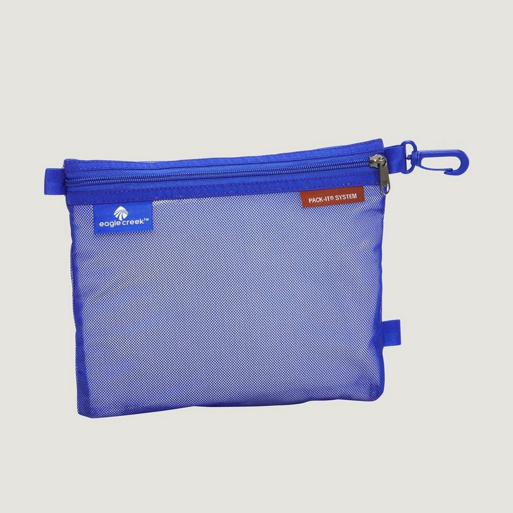 Eagle Creek Travel Luggage: Pack-It Original Sac MEDIUM Blue Sea