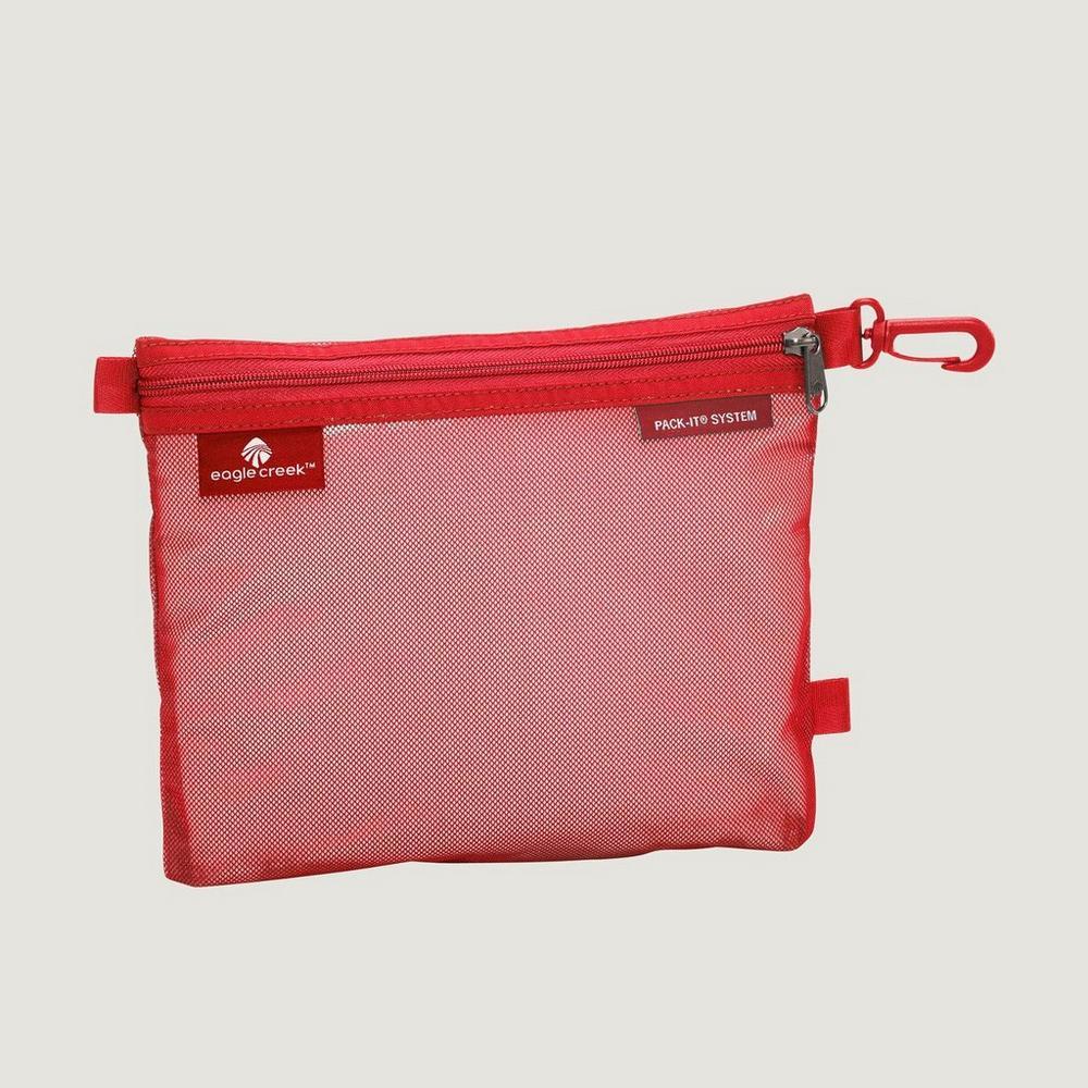 Eagle Creek Travel Luggage: Pack-It Original Sac MEDIUM Red Fire