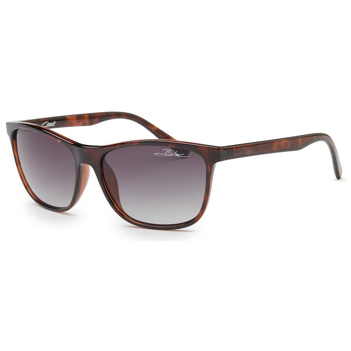 Bloc Coast Shiny Tortoise - Polarised Grey Lens Sunglasses
