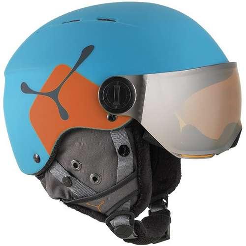 Kid's Fireball Visor Helmet