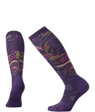 Women's Ski Medium Pattern Socks