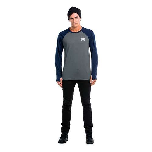 Men's Long Sleeve Coreshot Raglan Base Layer