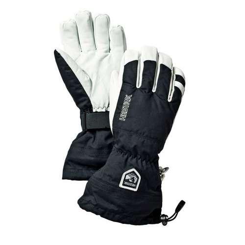 Men's Army Leather Heli Ski Glove