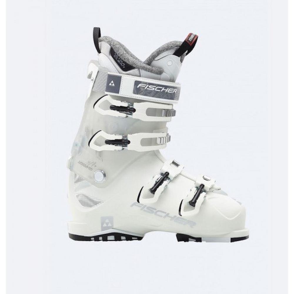 Fischer Women's Hybrid 9+ Vacuum CF Ski Boot - White
