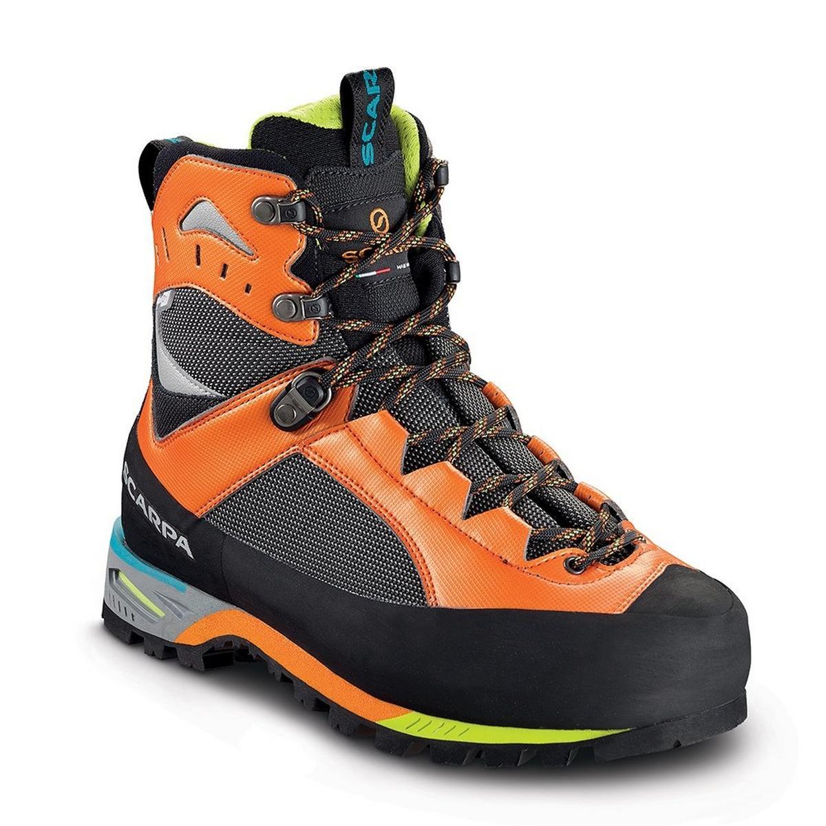 Scarpa Boots Men's Charmoz OutDry 1051 Shark/Orange (42-48)