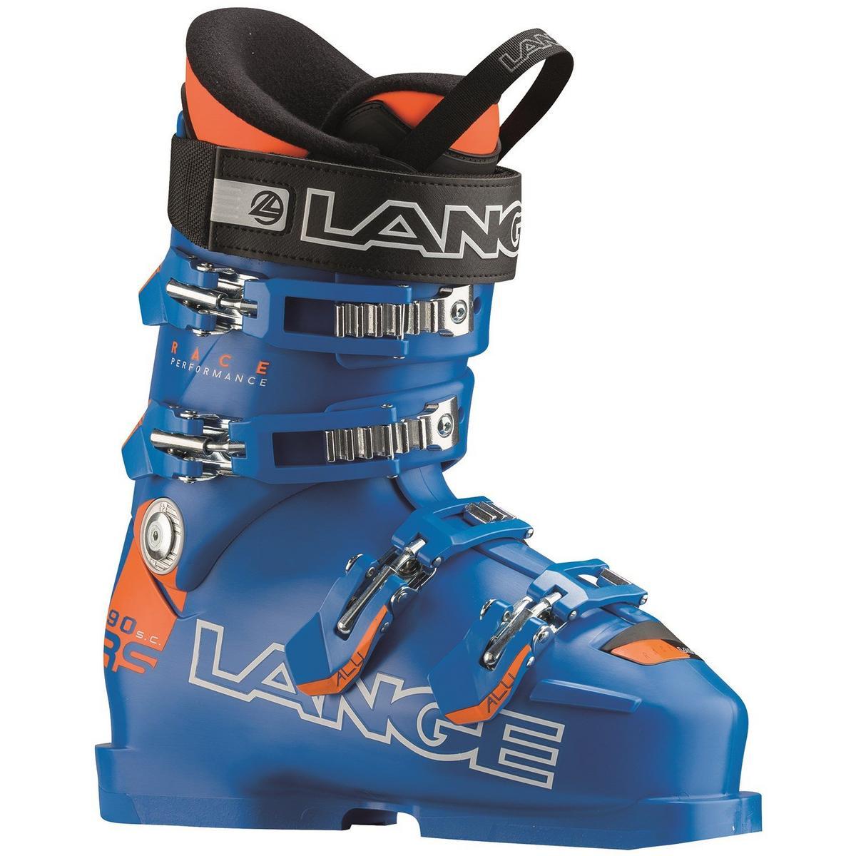 Lange RS 90 Short Cuff Junior Ski Boot - Blue