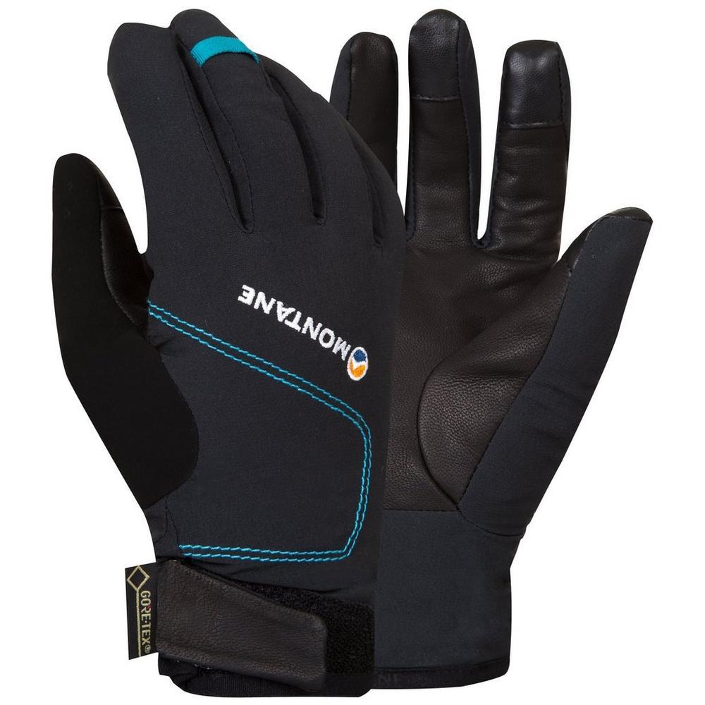 Montane Gloves Women's WATERPROOF INSULATED Tornado Black/Zanskar