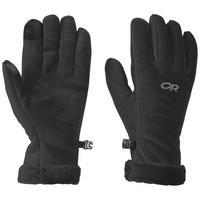 Women's Fuzzy Sensor Gloves