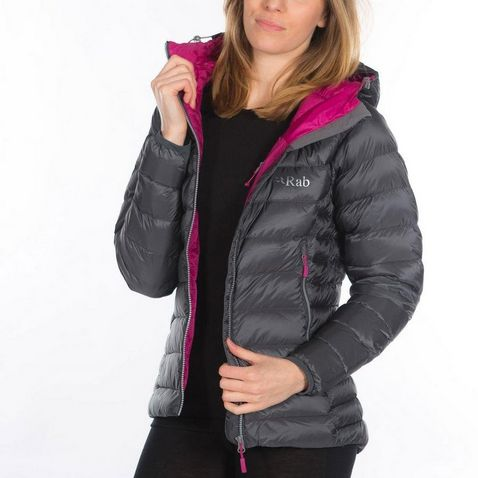 b66b57d7a962 Grey Rab Women s Electron Jacket ...