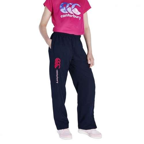 Kids' Girls Open Hem Stadium Trousers