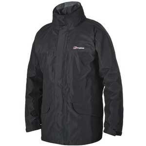 Men's Berghaus Cornice Waterproof Jacket IA - Black