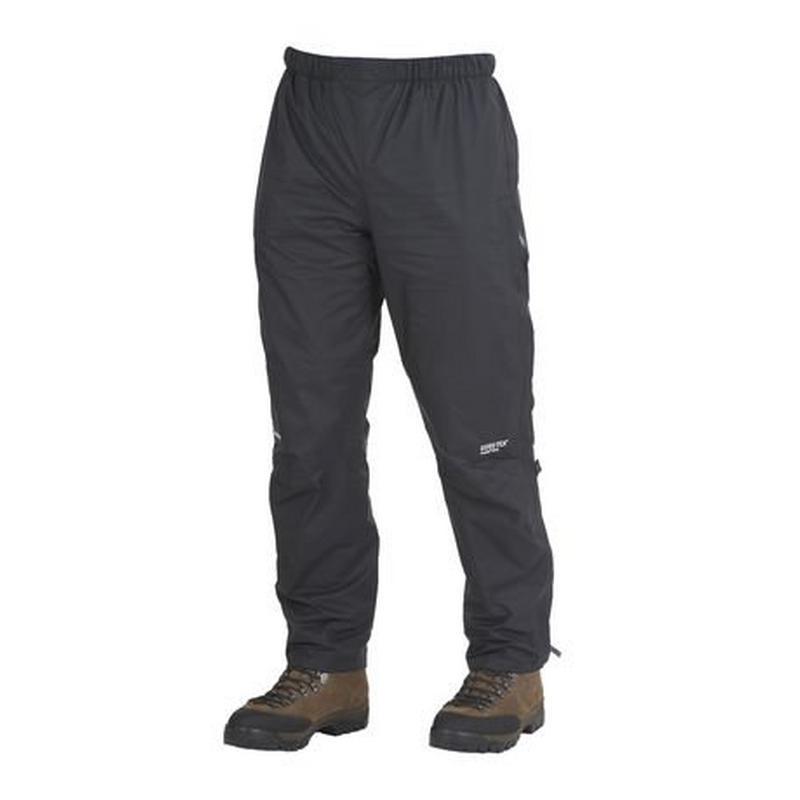 WATERPROOF Overtrousers Men's Gore-Tex Paclite Pant SHORT Leg Black