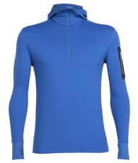 Men's Compass Long Sleeve Half Zip Hooded Base Layer