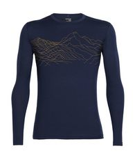 Men's Oasis Long Sleeve Crewe Topochartic