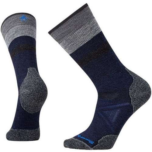 Men's PhD Outdoor Med Pattern Crew Sock