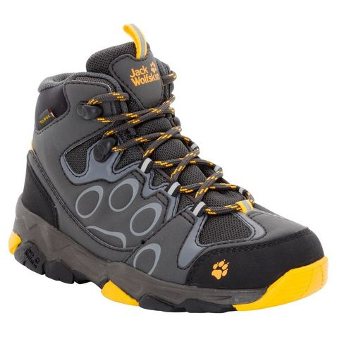 6389ffdb1 Yellow Jack Wolfskin Kids  Mtn Attack 2 Texapore Mid ...
