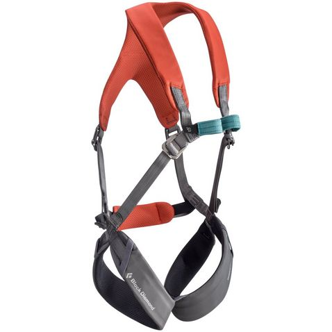 red black diamond equipment kids momentum full body harness