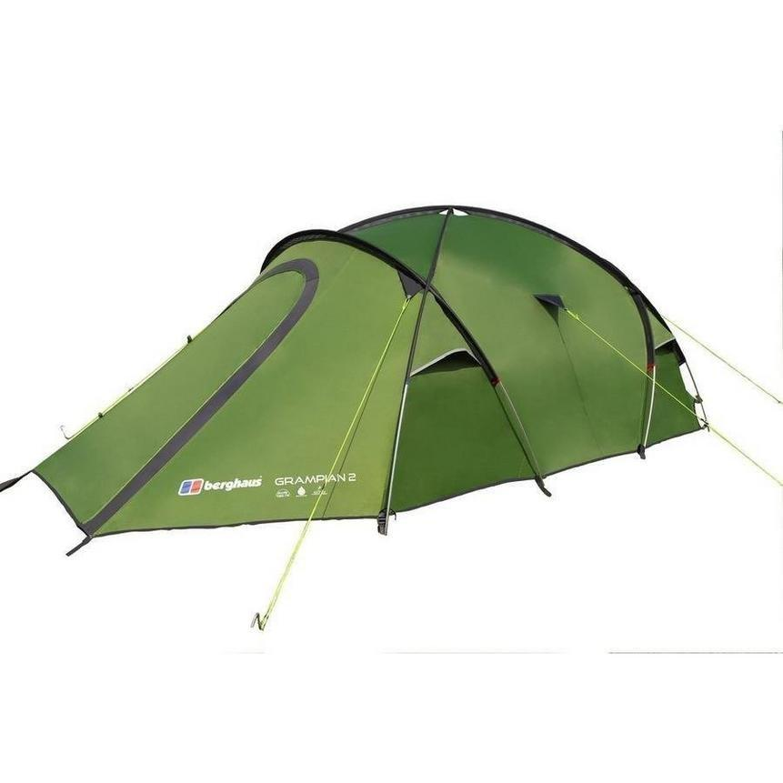 Green Berghaus Gr&ian 2 Man Tent ...  sc 1 st  Tiso & 2 Man Tents | Two Person Camping Tents | Tents for Couples