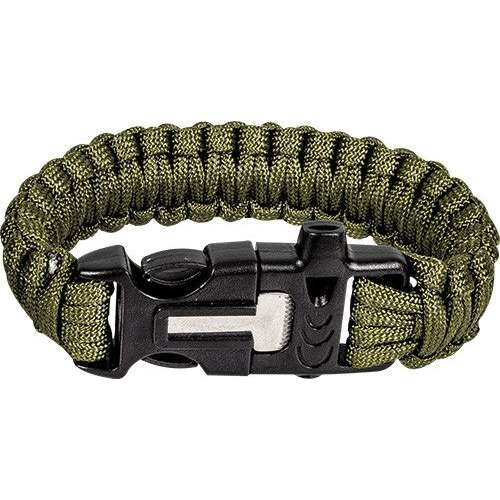 Whistle Striker Pcord Bracelet