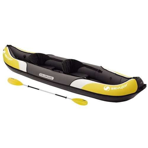 Colorado Inflatable Kayak and Paddle