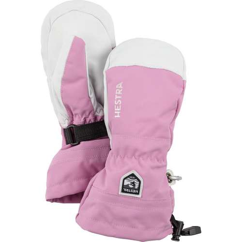 Kids' Army Leather Ski Mitt Junior