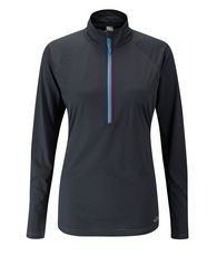 Women's Interval Long Sleeve Zip Top