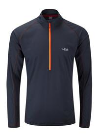 Men's Interval Long Sleeve Zip Top