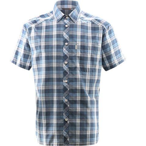 67501c6172c0f Blue Haglofs Men s Frode Short Sleeve Shirt ...