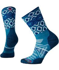 Women's PhD Outdoor Light Pattern Crew Socks