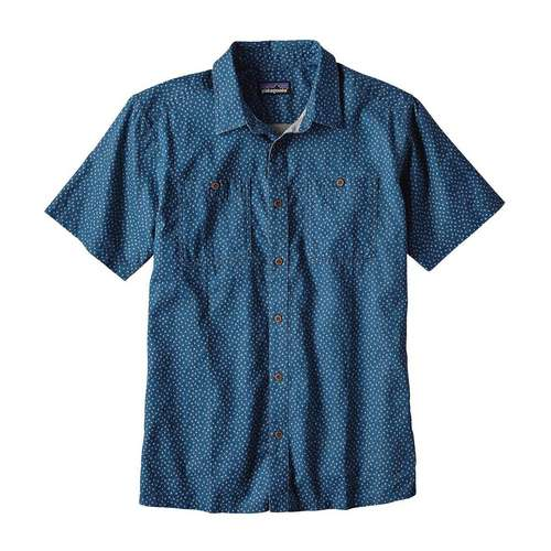Men's Short Sleeve Back Step Shirt