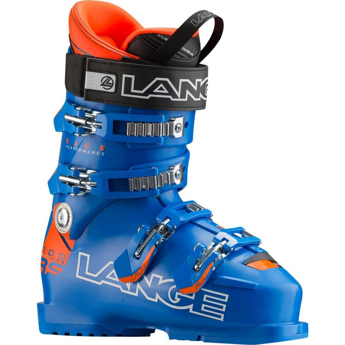 Lange RS 100 Short Cuff Wide Ski Boot - Blue