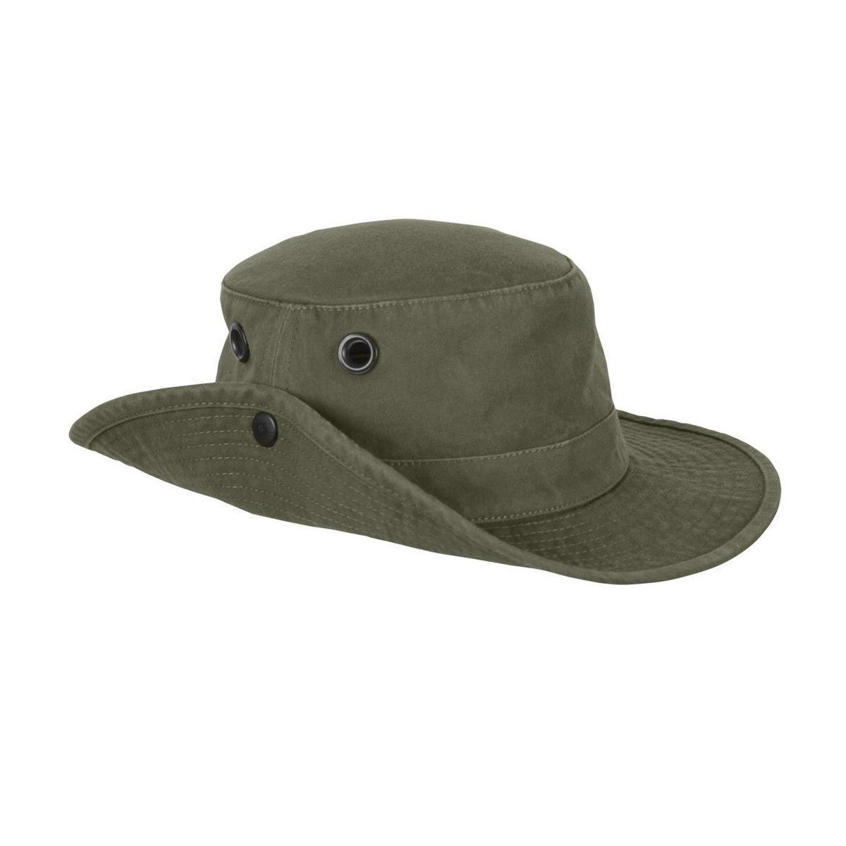 Tilley Endurables Tilley Hat T3 The Wanderer Snap-up Medium Brim Olive