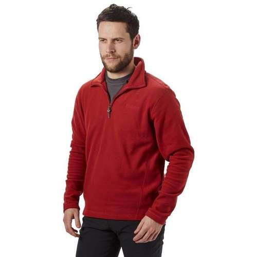 Men's Bleaberry Half Zip Fleece