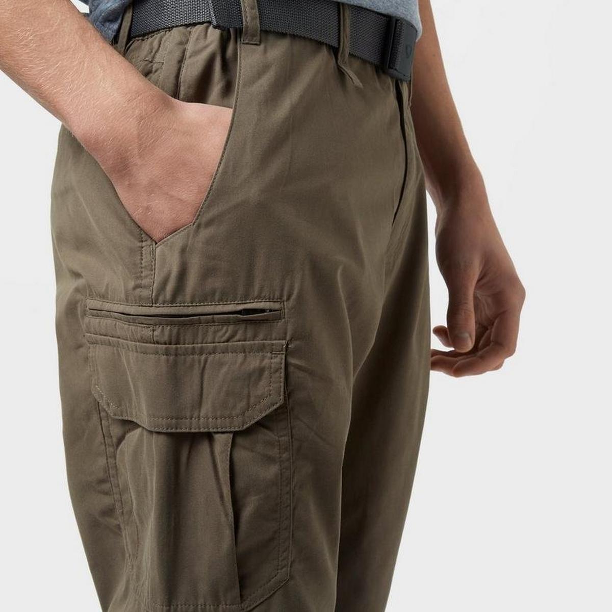 Brasher Men's Brasher Walking Trouser (Reg) - Brown