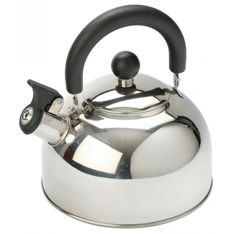 Stainless Steel Kettle with Folding Handle