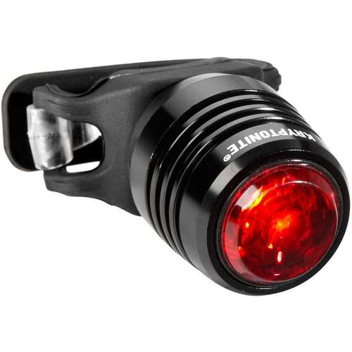 Boulevard Rear Light-3 LED Aluminium - Black USB