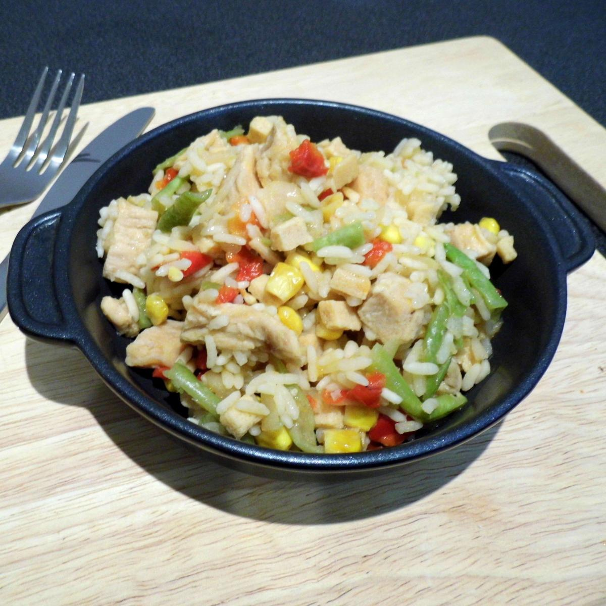 Summit To Eat Camping Meal: Chicken Fried Rice