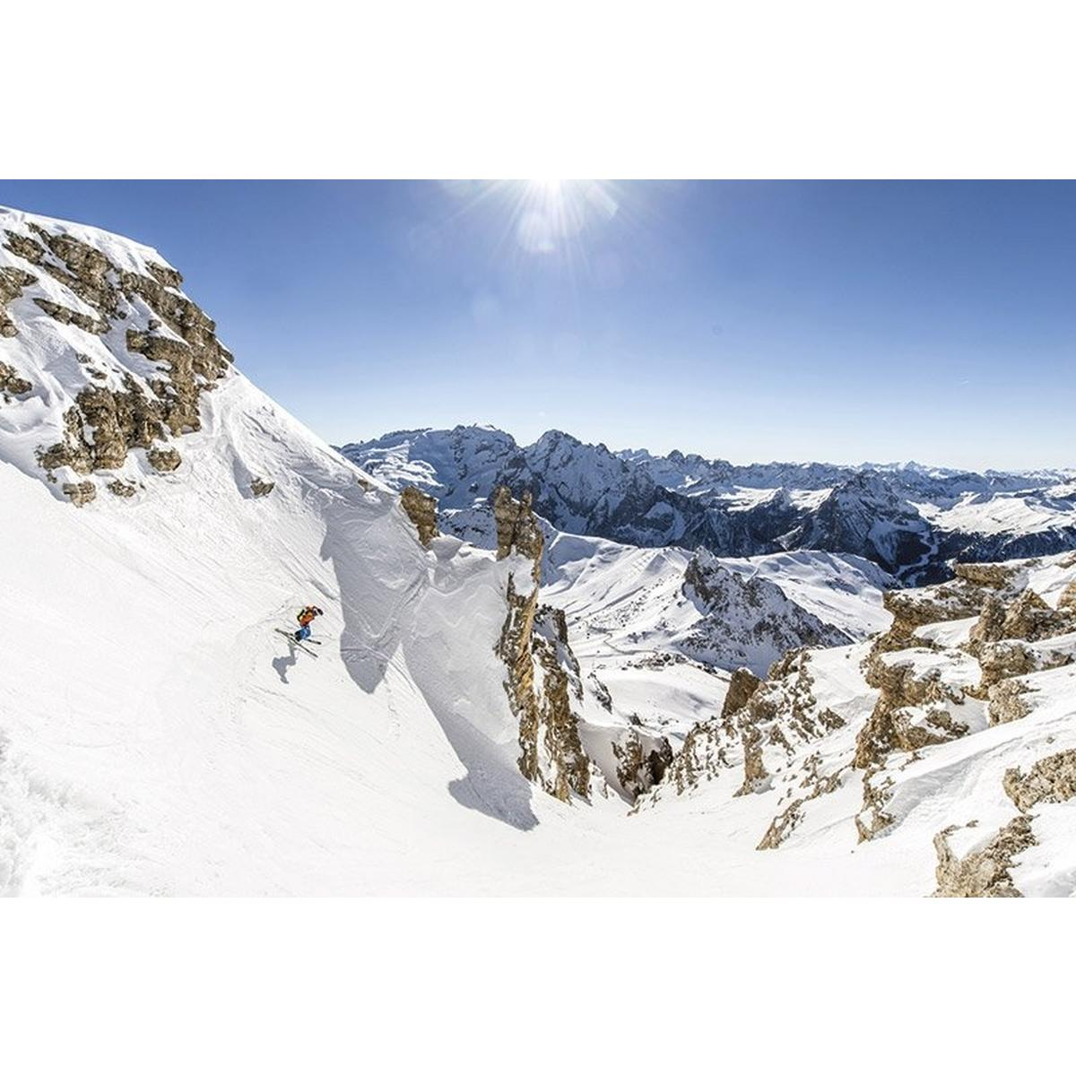 Cicerone Ski Touring In The Dolomites