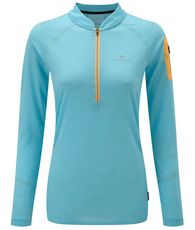 Women's Infinity Long Sleeve Zip Top