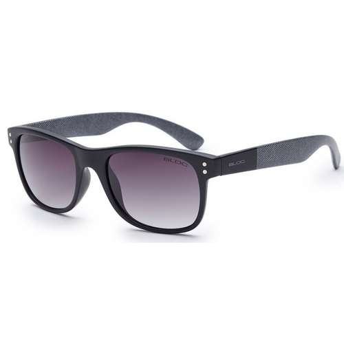 Wave Matt Black Grey Detail Sunglasses