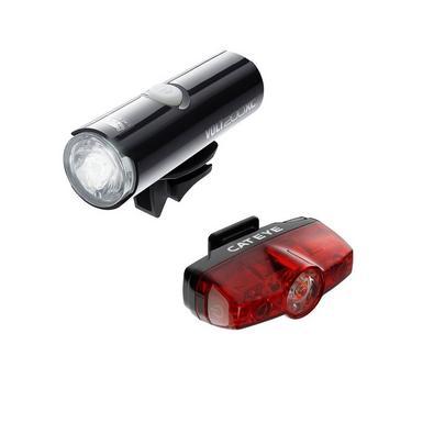 Cateye Volt 200 XC & Rapid Mini Front and Rear Bike Light Set