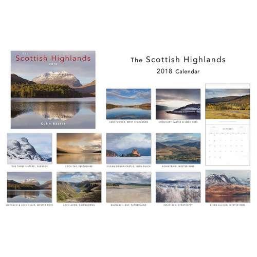 The Scottish Highlands Calendar