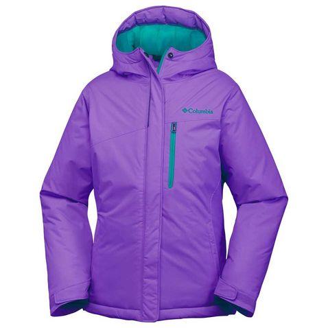 c84802093 Purple Columbia Girls' Alpine Free Fall Jacket ...