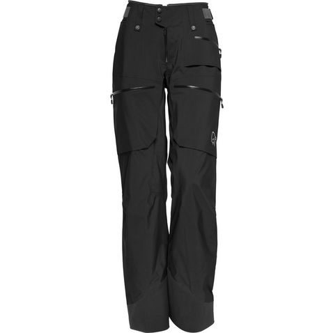 Black Norrona Women s lofoten Gore-Tex Pro Light Pants 77abf16546